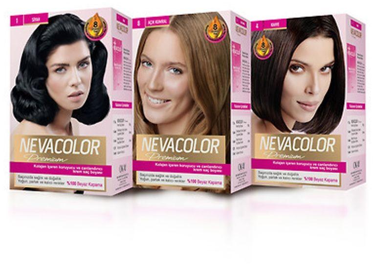 Nevacolor Premium Sac Boyalari Sac