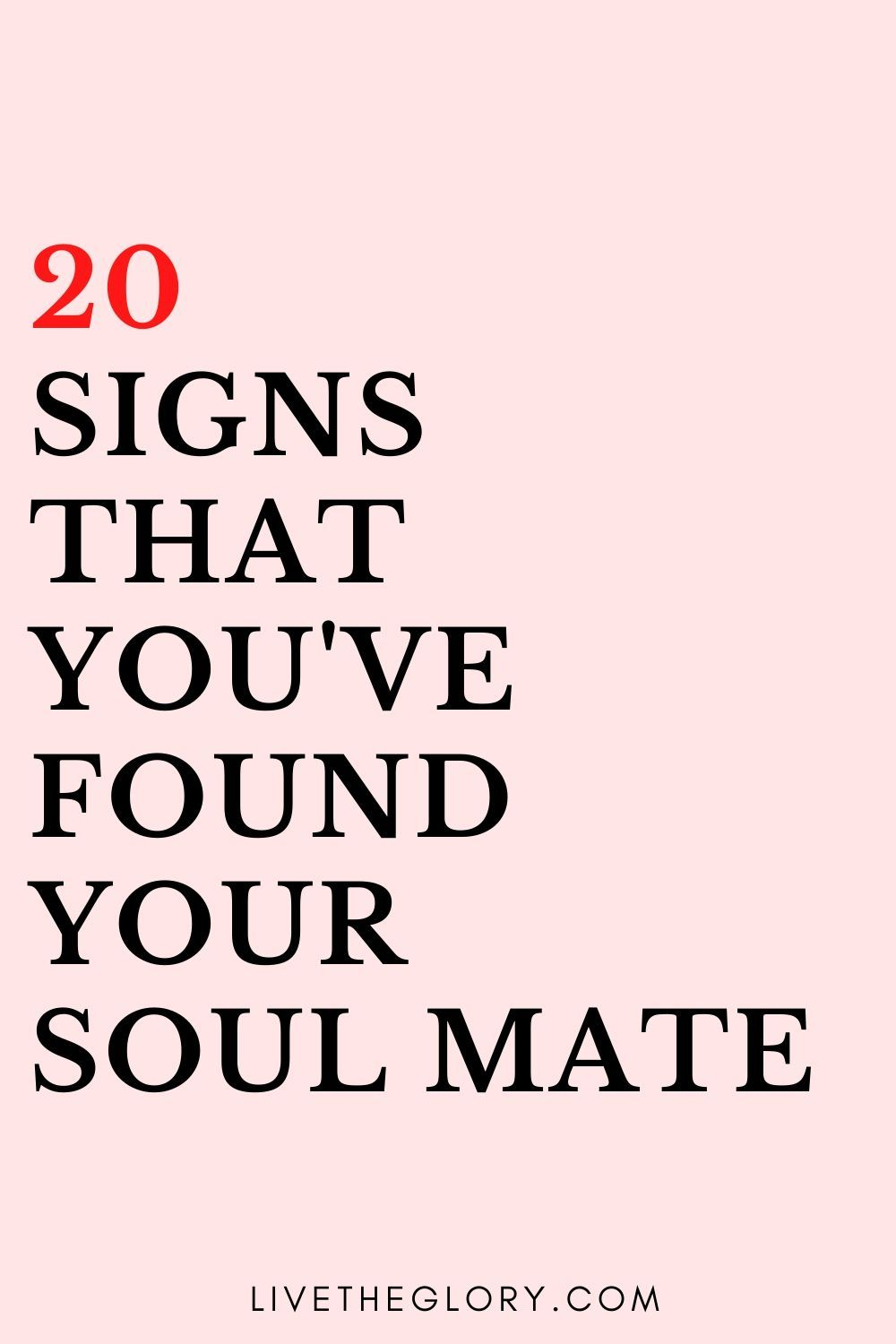 He signs my that soulmate is 7 Little