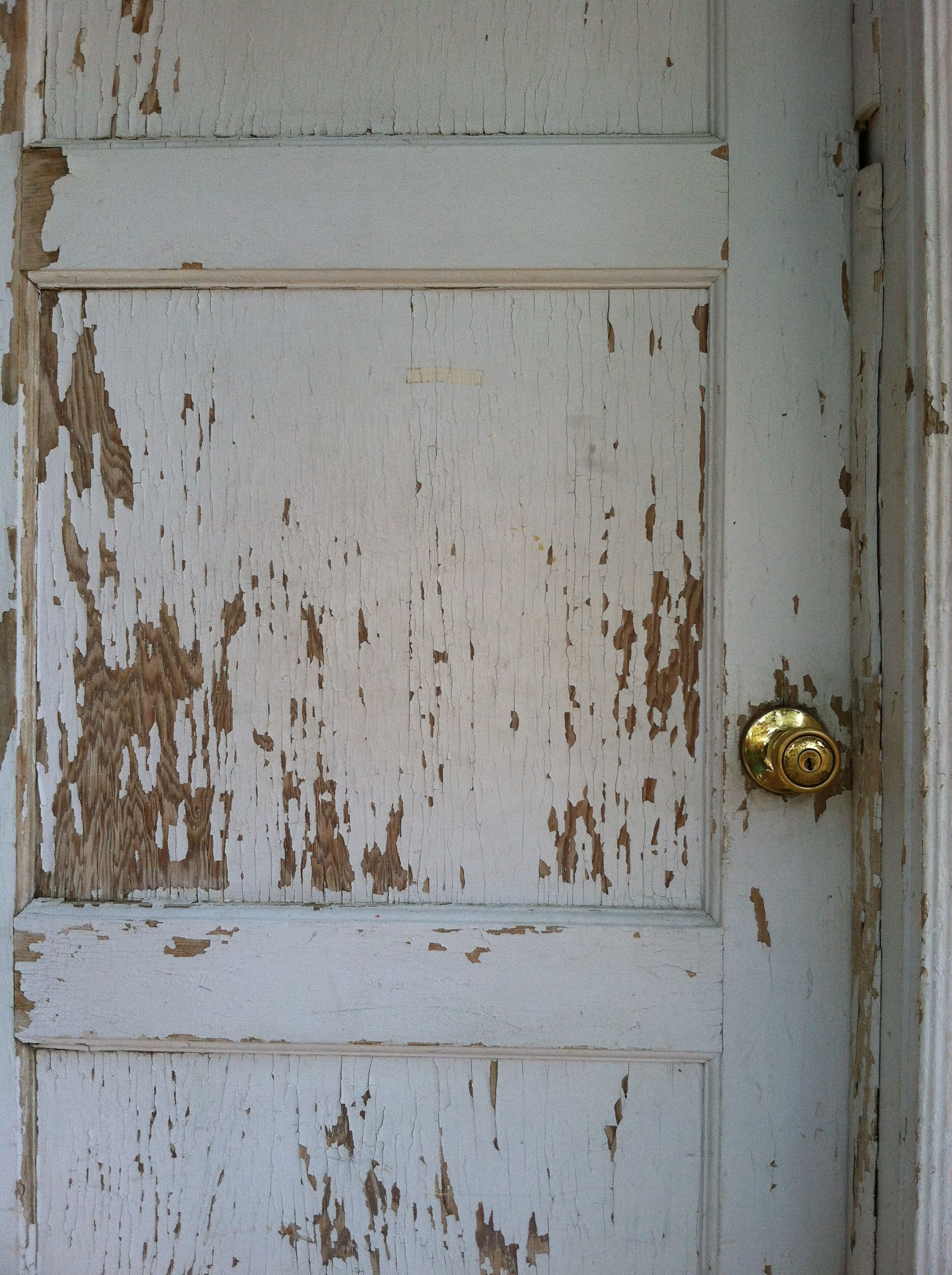Our Weathered Old Front Door Grannys For The Home And Garden