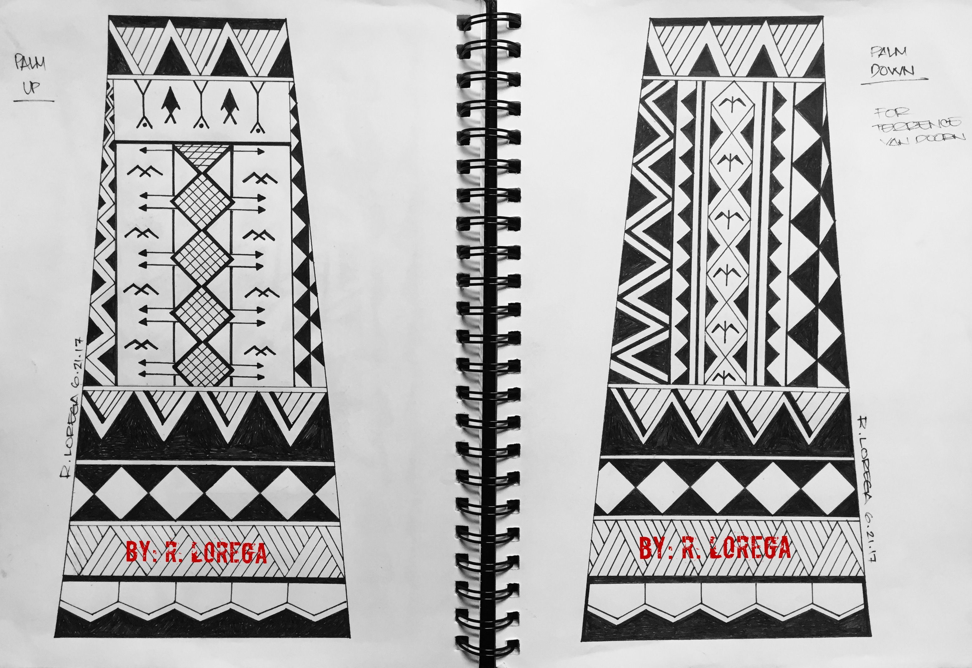 Contemporary filipino tribal tattoo design filipinotattoostribal