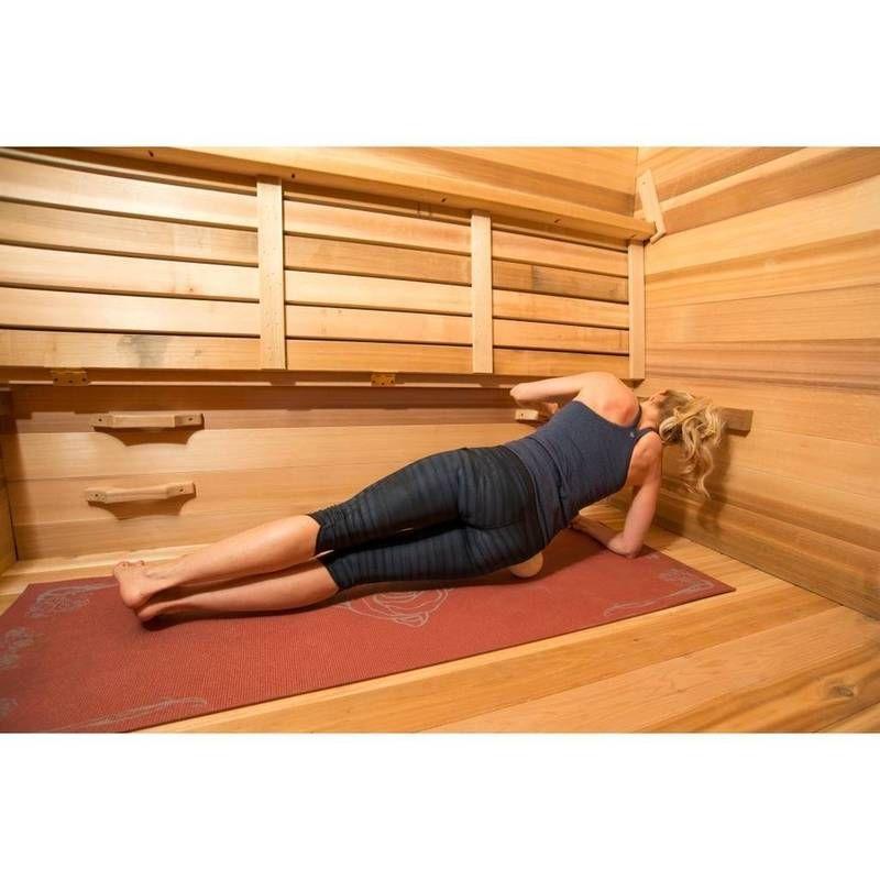 Hot yoga training sauna in 2020 sauna design yoga