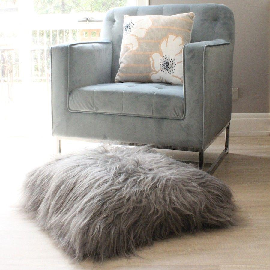 large floor pillow euro pillow cushion grey icelandic