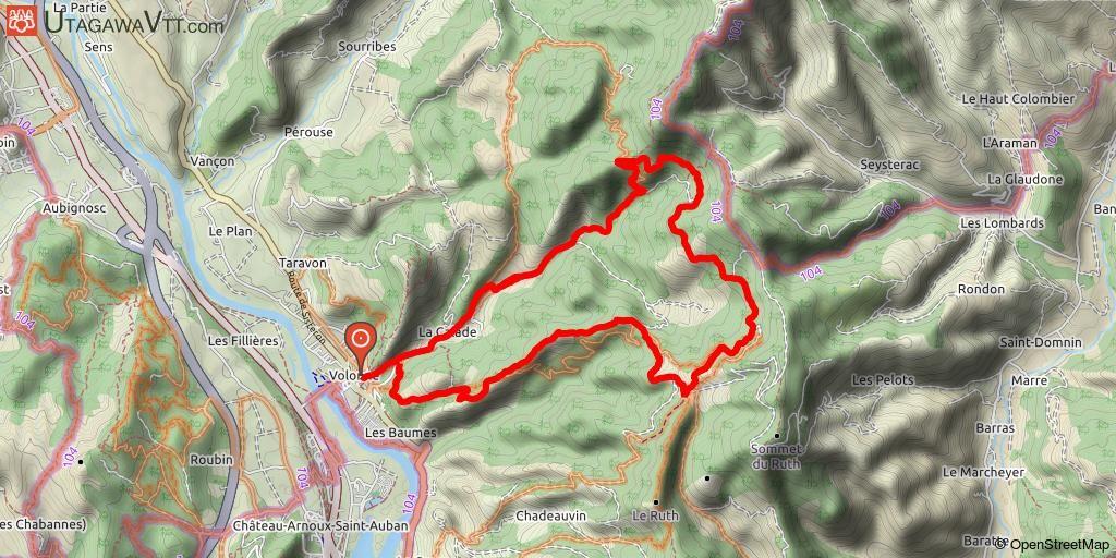 Base Vtt Ffct Val De Durance N 12 La Tour De La Fubie