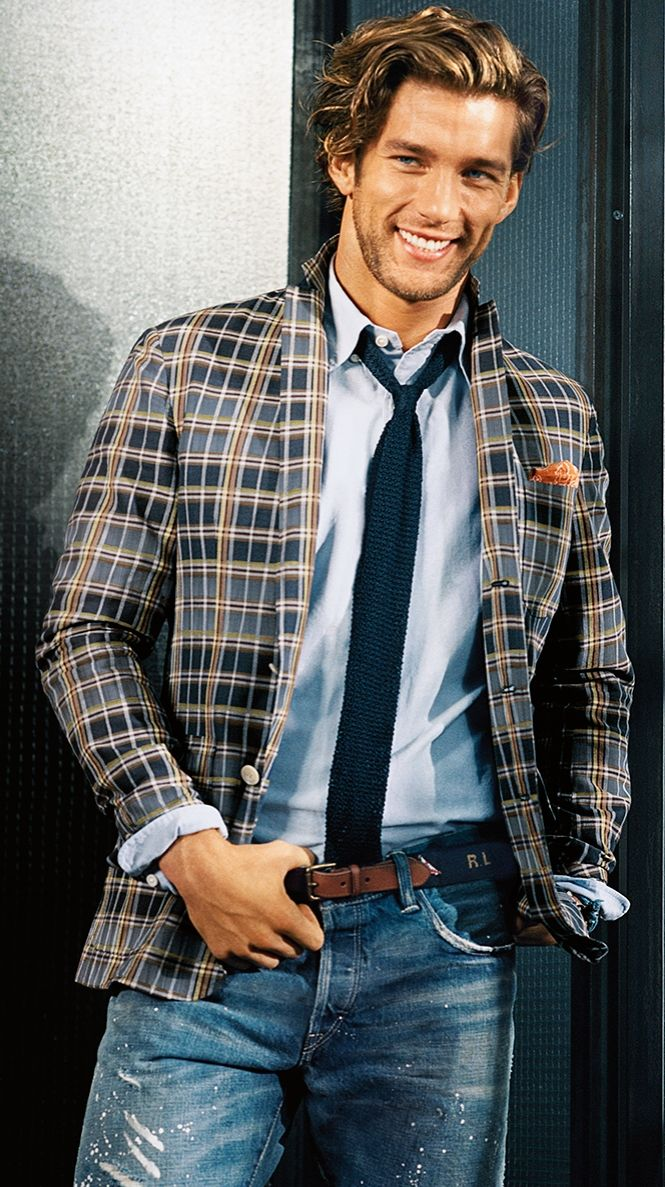 Jacket, tie – and denim  the upgraded and updated Polo Ralph Lauren look  for spring a1a05f5984d