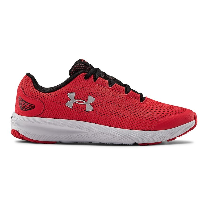 Photo of Under Armour Charged Pursuit 2 Grade School Kids' Sneakers, Boy's, Size: 6, Red