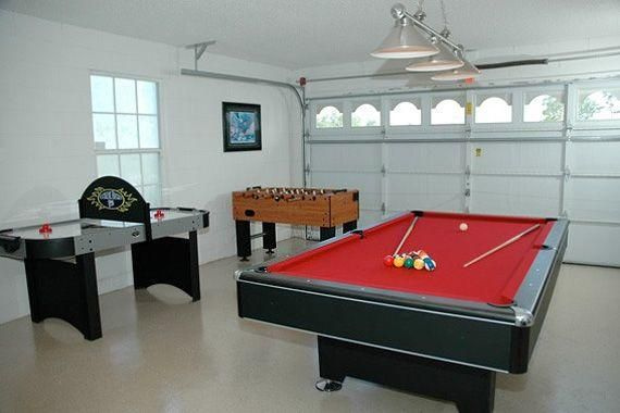 5 Cool Ideas To Turn Your Garage Into A Game Room Knockoffdecor Com Garage Room Garage To Living Space Garage Game Rooms