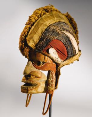Malagan Tatanua Mask, New Ireland