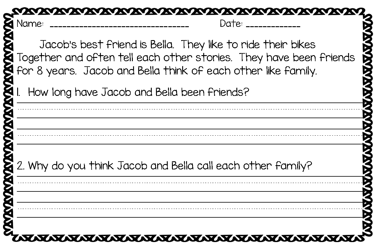 Worksheet Short Stories 1st Grade 1000 images about text evidence on pinterest constructed response texts and graphic organizers