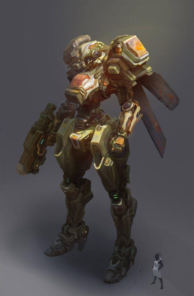 concept robots: Concept robots by Ruan Jia