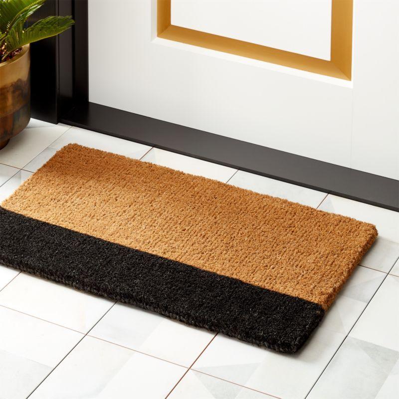 Ryder Jute Doormat Reviews Cb2 In 2020 Modern Doormats Jute Doormat Door Mat