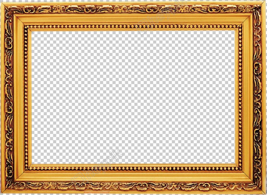 Square Gold Frame Free Png Transparent Layer Design Gold Frame Frame Layers Design