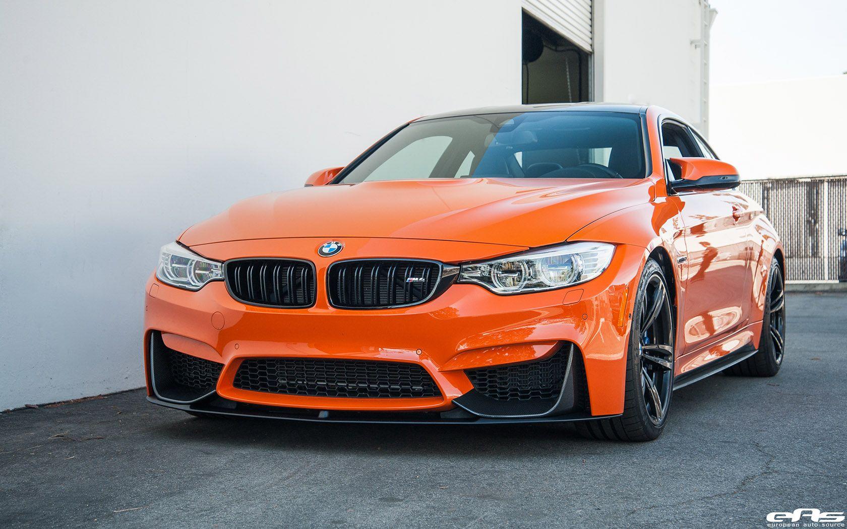 Fire Orange Ii Bmw F82 M4 Gets Modded And Refined Bmw Bmw M4 Orange Car