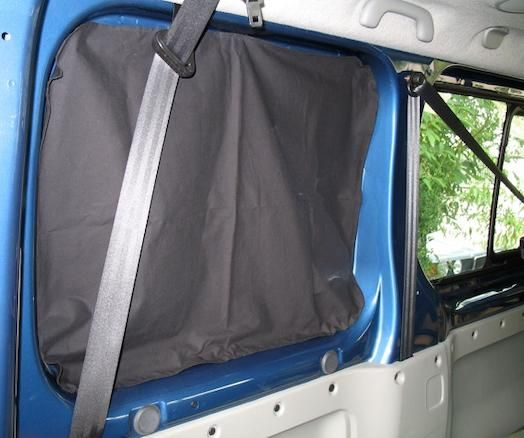 magneettoepassingen auto kampeerwagen met magnetische gordijnen verduisteren supermagnetenl
