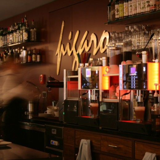 gastro-design - cafe restaurant figaro mainz am domplatz | design, Innenarchitektur ideen