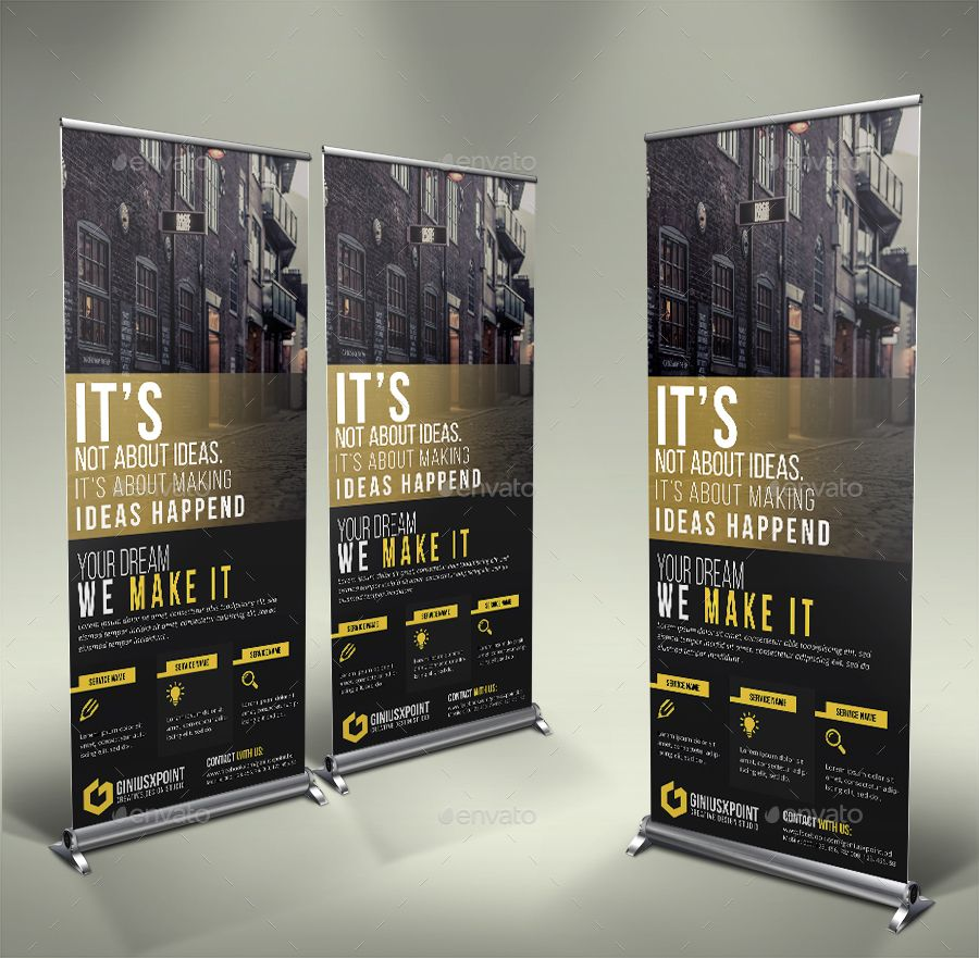 Business Roll Up Banner Business Roll Banner Interior