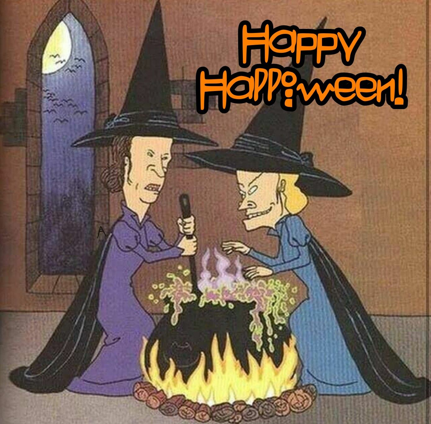happy halloween, beavis & butthead witches | movies & tv | pinterest