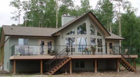 The Pine Ridge Prefab Cabin And Cottage Plans Winton Homes Cottage Plan Affordable Prefab Homes Prefab Cabins