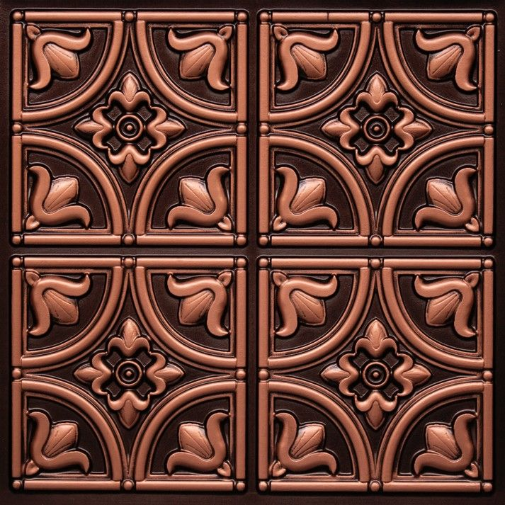 Plastic Decorative Ceiling Tiles 12X12 Ceiling Tiles 148 Antique Copper Glue Up 2X2 Free Sh  Tin