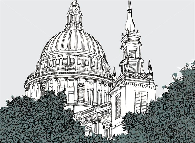 Architecture Drawing Illustrator claire rollet - architectural and ink illustrator based in london