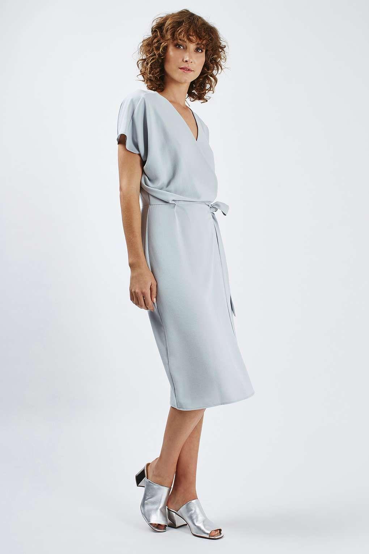 cc5f61e0bdb6 TALL Wrap Midi Dress - Spring Summer Campaign - Clothing - Topshop Europe