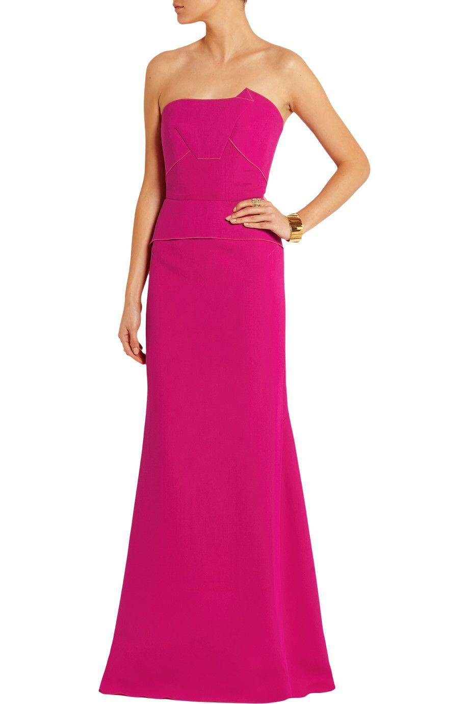 Roland Mouret   Crepe dress, Dresses, Gorgeous dresses