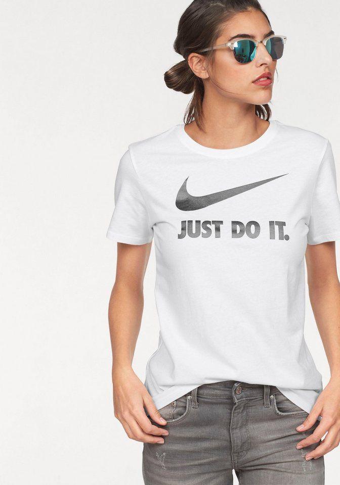 Nike Sportswear T Shirt »W NSW TEE CREW JDI SWOSH HBR