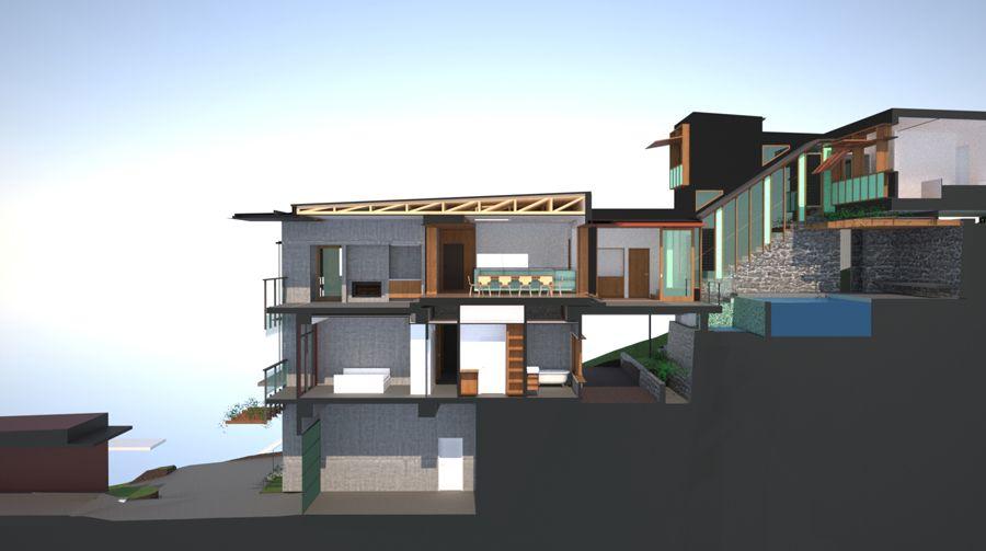 Bligh Graham Architects Bardon House - 2015 Residential - moderne huser 2015