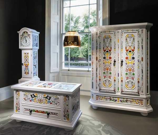 Antique Paint Colors For Furniture | Vintage Furniture Blending Vivid Paint  Colors and Crafty Furniture . - Antique Paint Colors For Furniture Vintage Furniture Blending