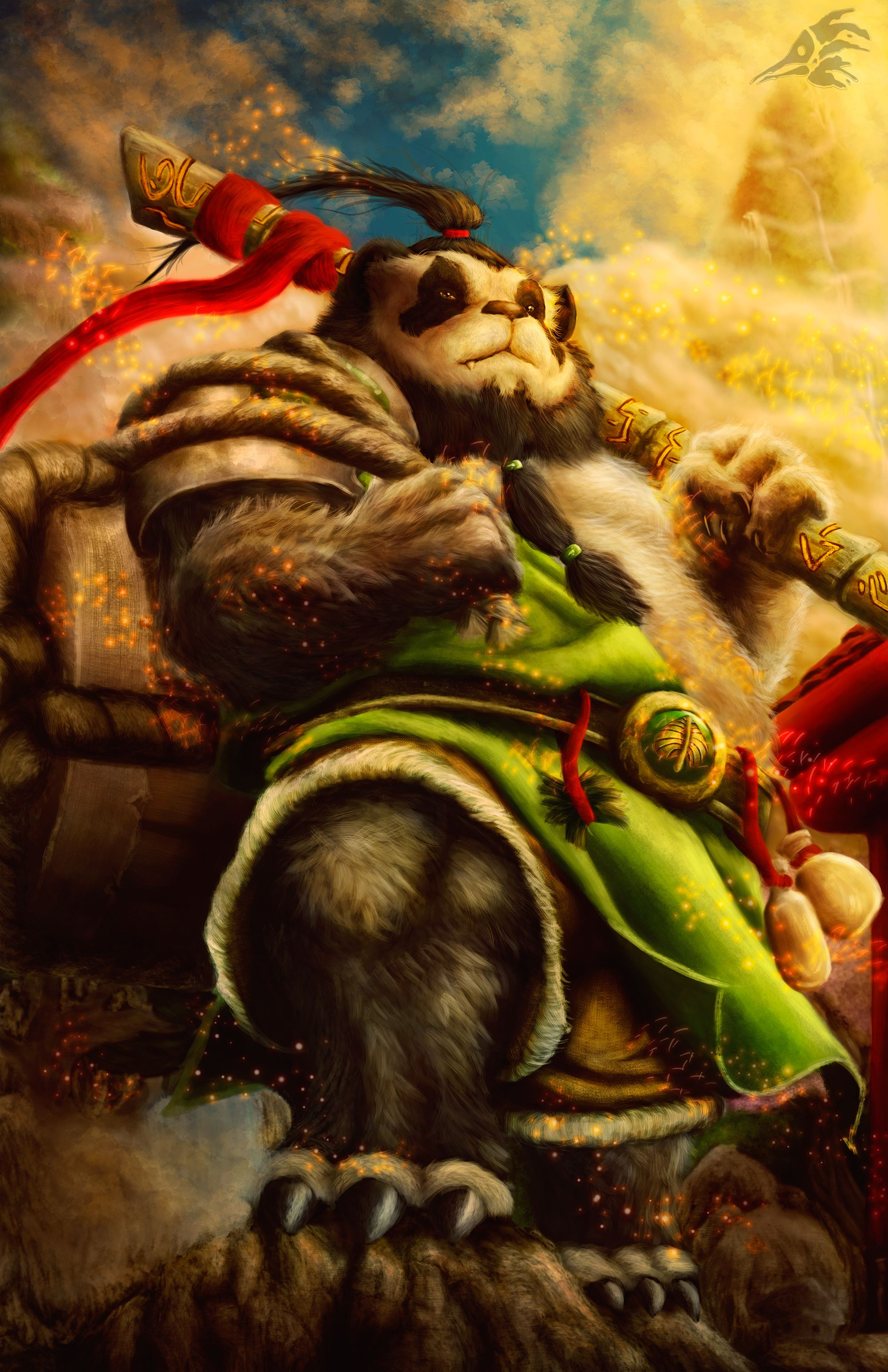 Pin by Aphoenix on PandarenS in 2019 | Warcraft art, World ...