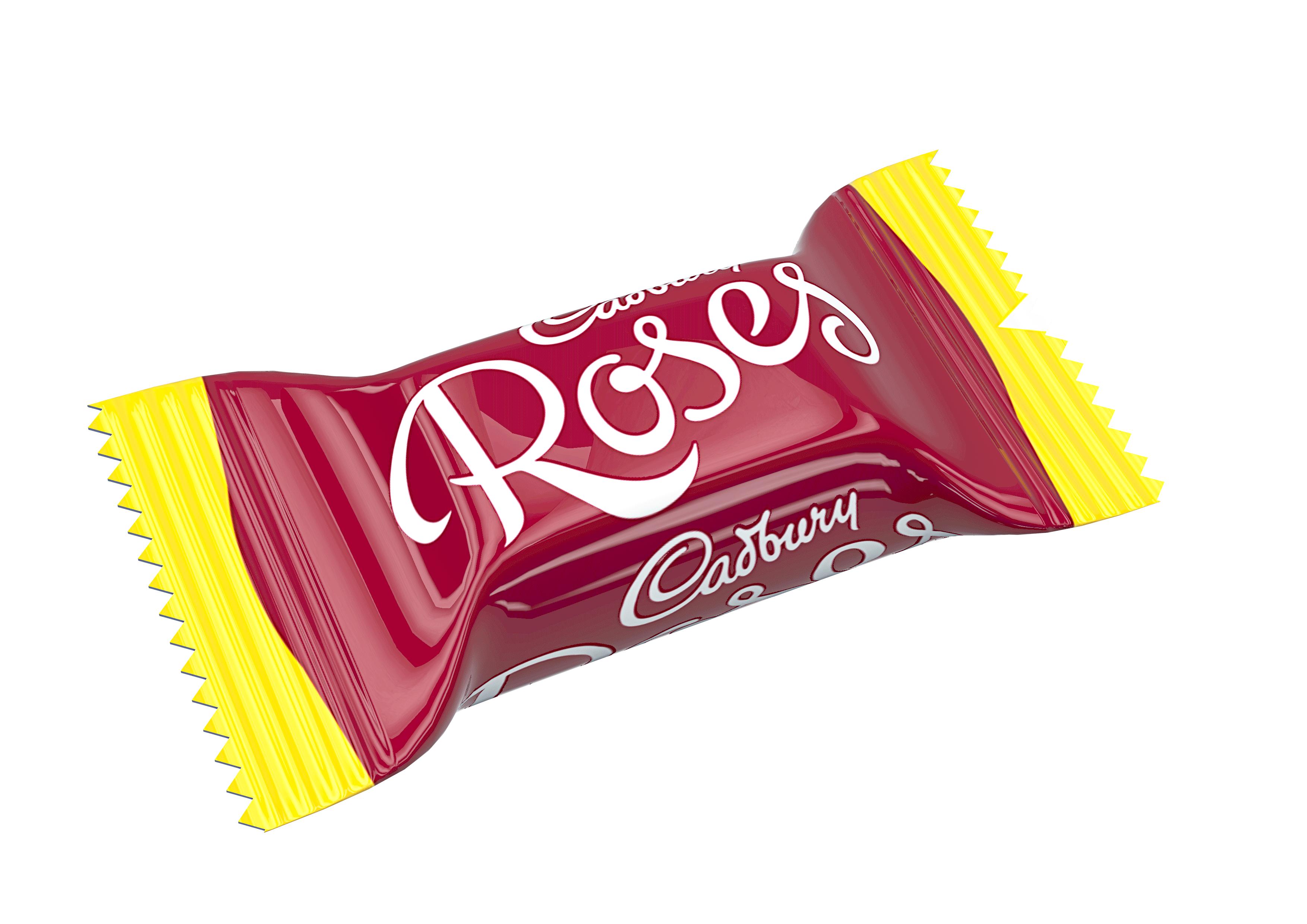 Cadbury Roses Chocolate Bonbon Packaging Chocolate & Candy
