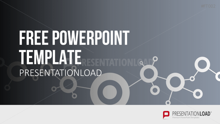 Free Powerpoint Template Network Concept Powerpoint Templates Powerpoint Simple Powerpoint Templates