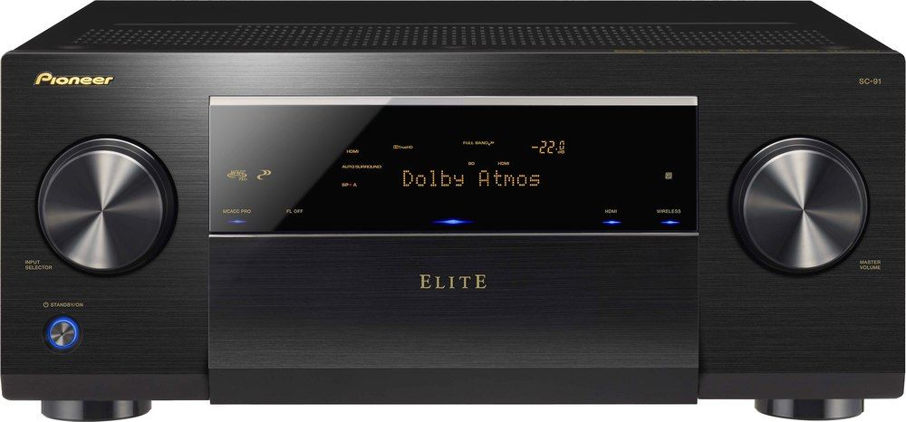 Pioneer Elite SC 91 The Power To Transform With Loads Of Wireless Music Options Multi Zone Capabilities And Support For Latest Video Surround