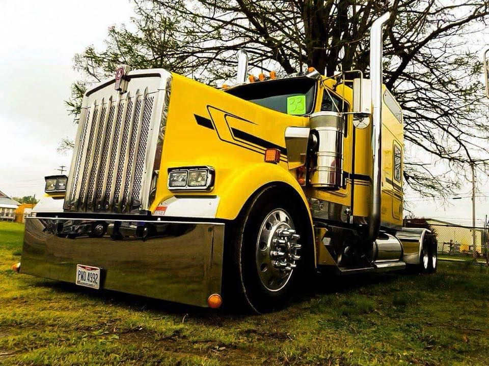 Trucking … Kenworth trucks, Semi trucks, Heavy duty trucks