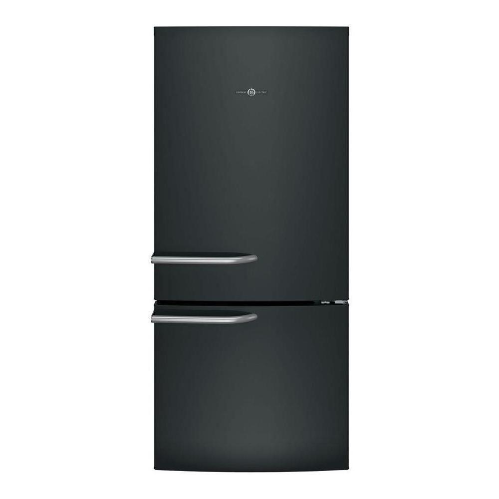 home depot black refrigerator bottom freezer