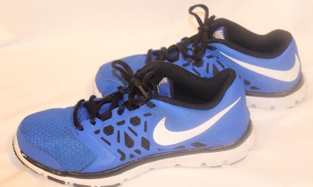 f7e3107a6102 NIKE FLEX SUPREME TR 4 Blue Black (GS PS) CHILDREN SHOES SIZE 6Y 759990 400  GUC  Nike