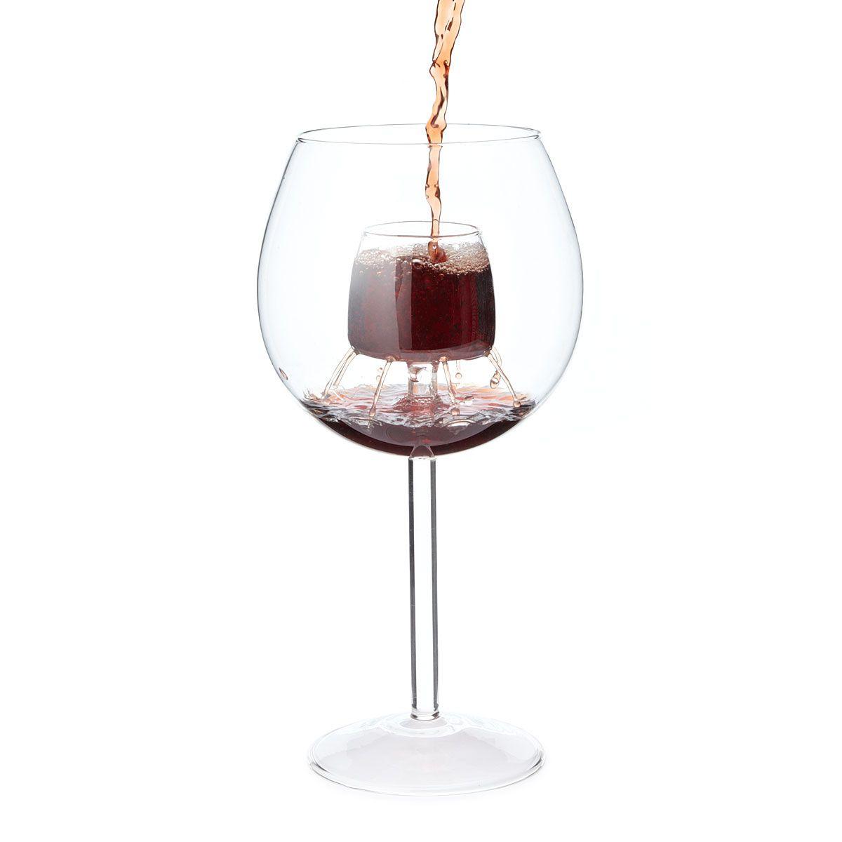 Fountain Aerating Wine Glasses Set Of 2 Self Aerating Wine Glass Decanter Aerating Wine Glasses Vintage Wine Wine Aerators