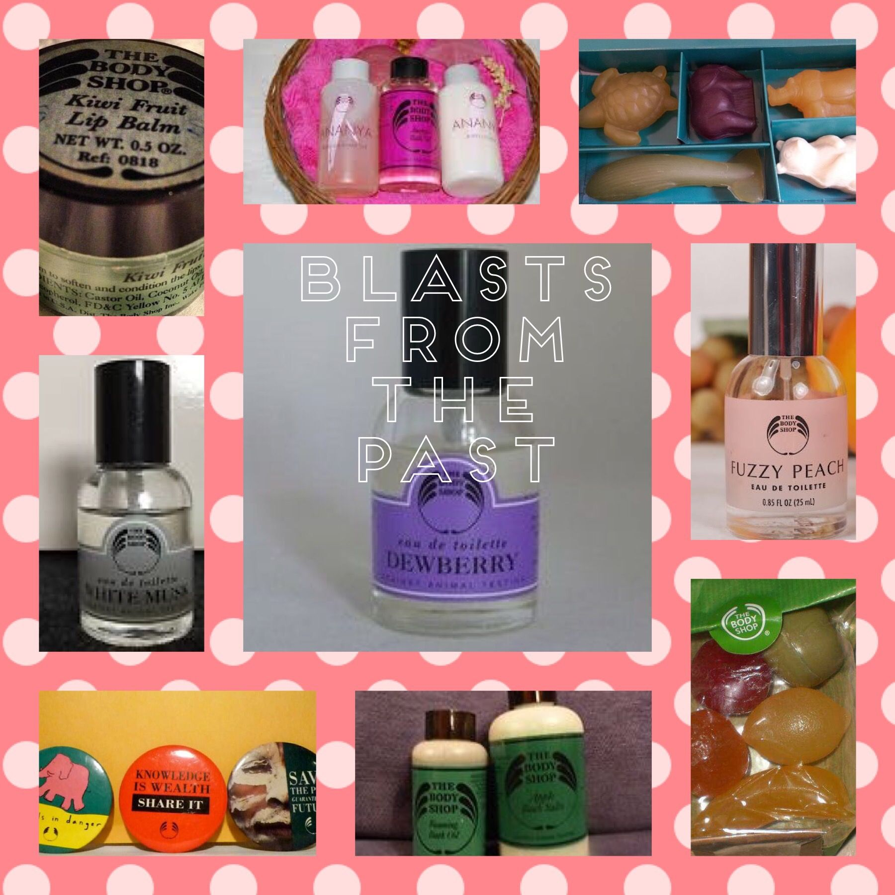 The Body Shop Uk Vintage Products 1980s 1990s Soaps Kiwi Lip