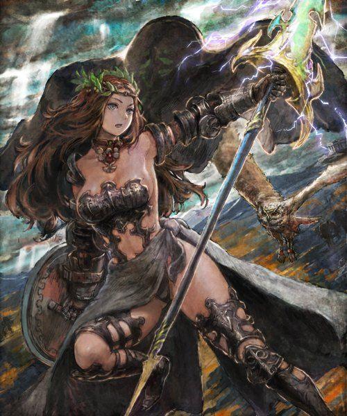 Resultado de imagen para athena mythology anime