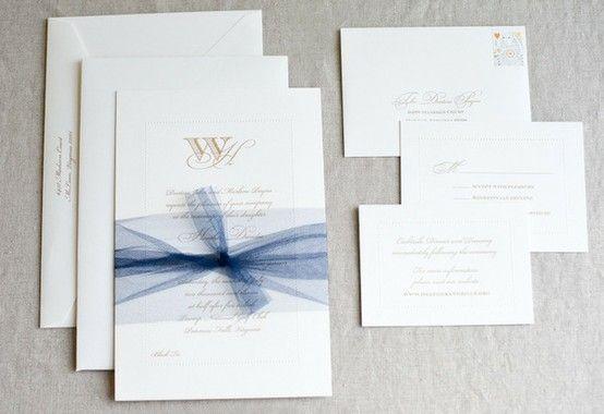 Wedding Invitation Ribbon