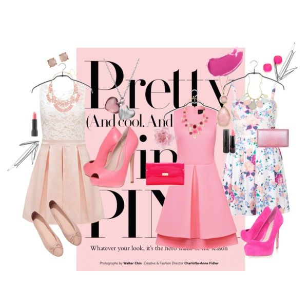 """PRETTY IN PINK"" by lisasweiback on Polyvore"