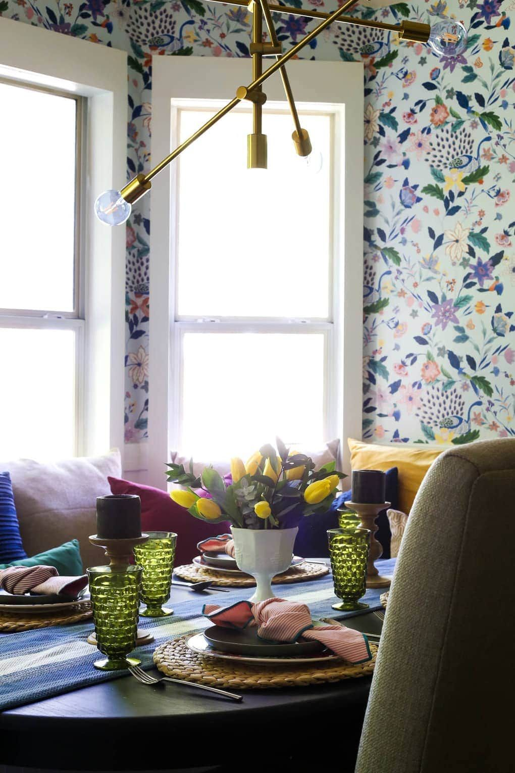 How to install wallpaper. This Anthropologie Sylvia
