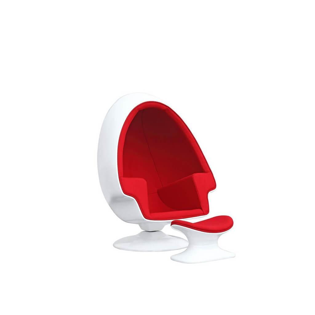 Alpha ball chair ottoman in 2020 ball chair chair and
