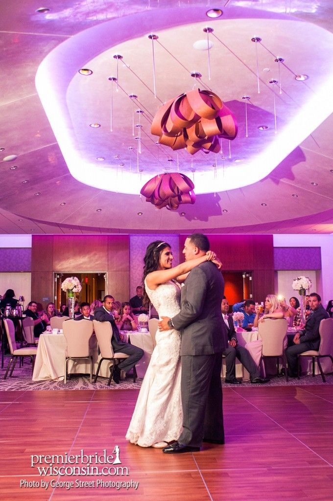 Real Wedding: Ciera and Mario at the Potawatomi Hotel & Casino ...