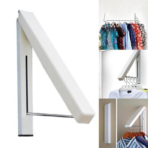 Wall Hangers For Clothes Folding Wall Hanger Retractable Indoor Waterproof Hangers Clothes