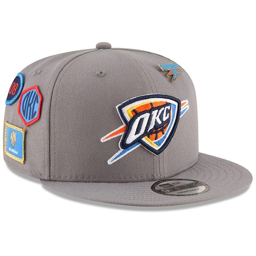 size 40 9841b 4caf6 ... france mens oklahoma city thunder new era gray 2018 nba draft 9fifty  adjustable hat your price