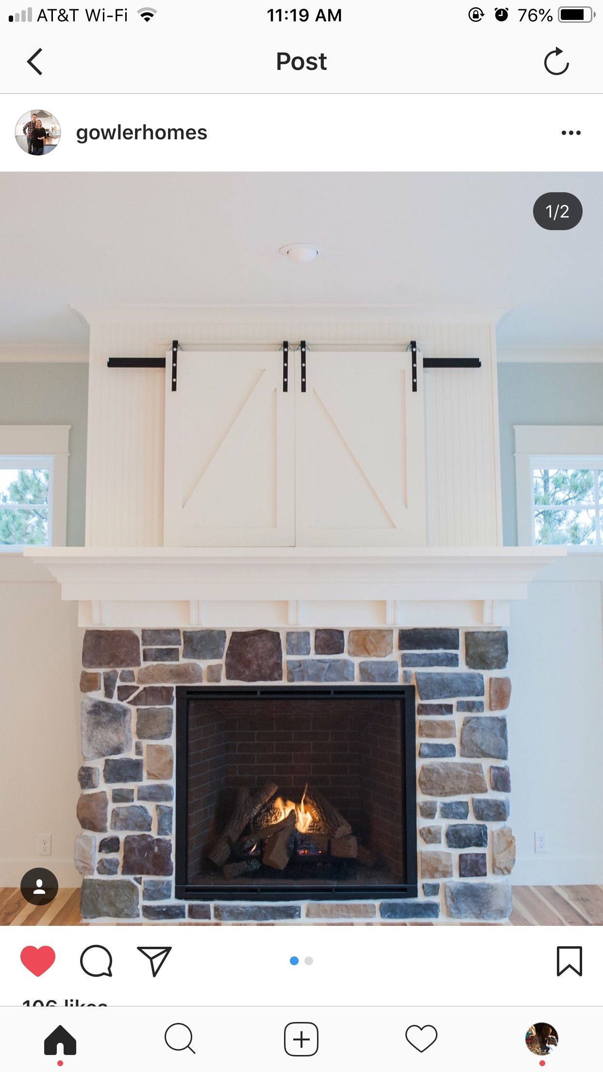 Pin By Dena Mullen On Cottages And Farmhouses Tv Above Fireplace Above Fireplace Ideas Fireplace