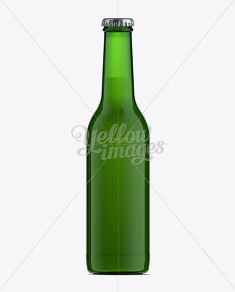 Download Download 330ml Green Glass Ale Bottle Mockup PSD Free ...