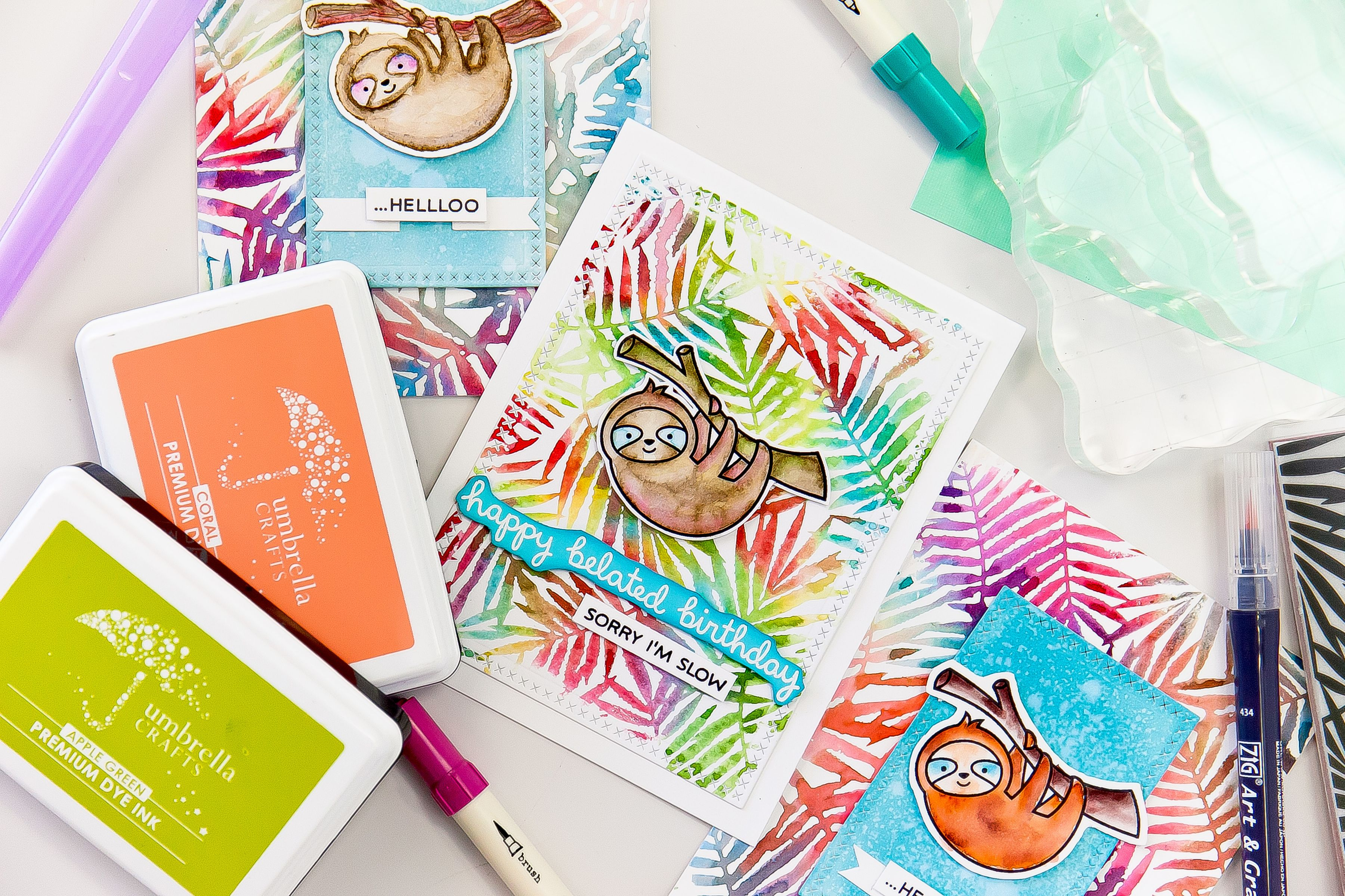 Lesson 7 How To Use Watercolor Markers To Create Colorful