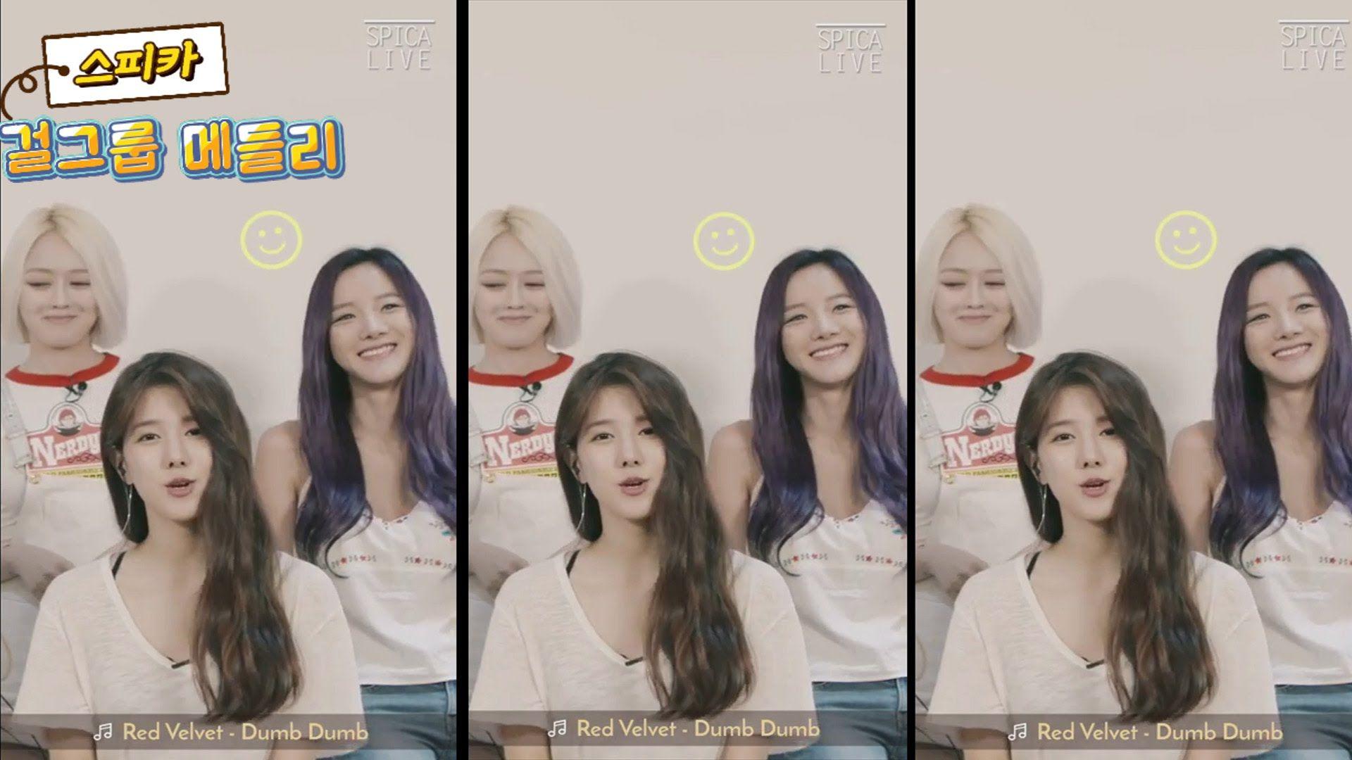 SPICA(스피카) 'K-POP Girl Group Medley'(걸그룹 메들리) Video 공개 (시크릿 타임, Secert T...