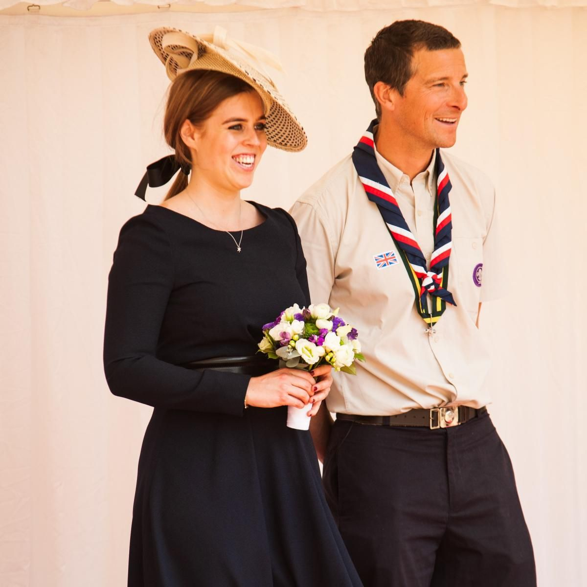 Princess Beatrice Honors National Scouts